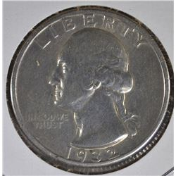 1932-D WASHINGTON QUARTER VF