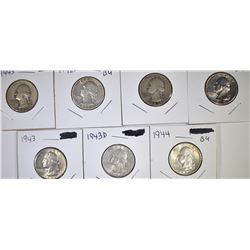 7 WASHINGTON QUARTERS
