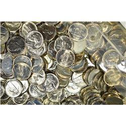 $85.00 FACE VALUE BU J3EFFERSON NICKELS 1970-81