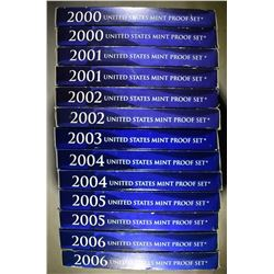 U.S PROOF SETS FROM THE 2000'S