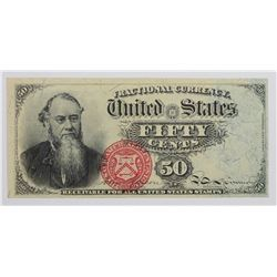 FIFTY CENT 1863 STANTON FRACTIONAL CURRENCY