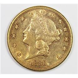 1888-S $20 GOLD LIBERTY
