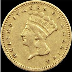 1877 GOLD DOLLAR
