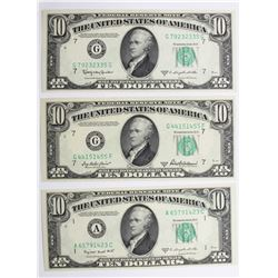 FEDERAL RESERVE NOTES $10.00
