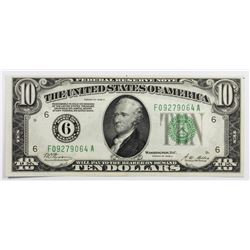$10 FEDERAL RESERVE NOTE