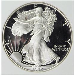 1992-S AMERICAN SILVER EAGLE