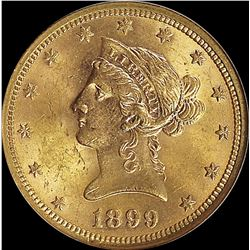 1899 $10.00 GOLD