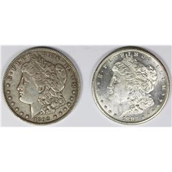 (2) MORGAN SILVER DOLLARS