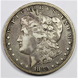 1880-CC MORGAN DOLLAR