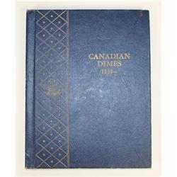 CANADA DIME SET 1902-1965