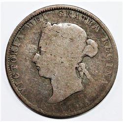 1871-H CANADA QUARTER