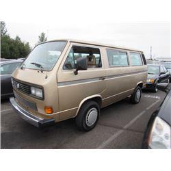 1986 Volkswagen Vanagon