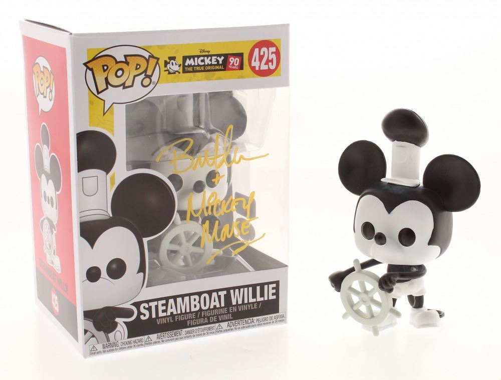 Mickey Mouse Steamboat Willie 90 Years POP Disney #425 Vinyl Figur Funko