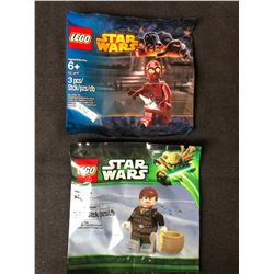 STAR WARS LEGO RED ARM C3PO HAN SOLO  MINIFIGURE POLYBAG LOT