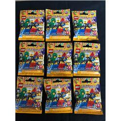 LEGO SERIES 18 MINIFIGURES LOT (1 MINIFIGURE PER PACKAGE)