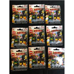 LEGO NINJAGO MINIFIGURES LOT (1 MINIFIGURE PER PACKAGE)
