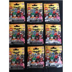 LEGO BATMAN MINIFIGURES LOT (1 MINIFIGURE PER PACKAGE)