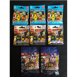 LEGO MINIFIGURES LOT (1 MINIFIGURE PER PACKAGE) **NINJAGO/ LEGO MOVIE 2**