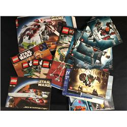 Lego Star Wars Instruction Manuals: 7913, 8083, 8084, 9489 Complete