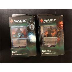 MAGIC THE GATHERING PLANESWALKER DECK TRADING CARDS LOT