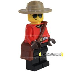 LEGO RCMP CANADIAN MOUNTIE Exclusive Style A Minifigure