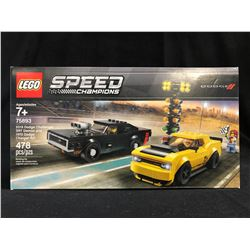 Lego Speed Champions 75893 Dodge Challenger SRT Demon and 1970 Dodge Charger R/T