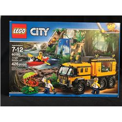 Lego City Set - 60160 Jungle Mobile Lab