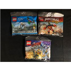 LEGO MINIFIGURES POLYBAG LOT
