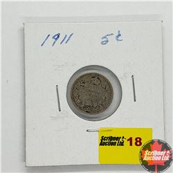 Canada Five Cent 1911