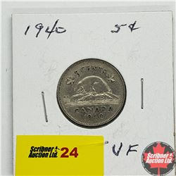 Canada Five Cent 1940