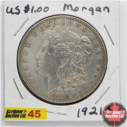 US Morgan Dollar 1921S