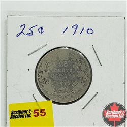 Canada Twenty Five Cent 1910