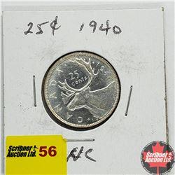 Canada Twenty Five Cent 1940