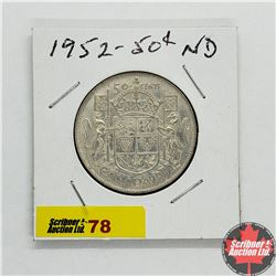 Canada Fifty Cent 1952
