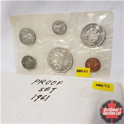 CHOICE OF 3 Canada Year Proof Sets : 1961