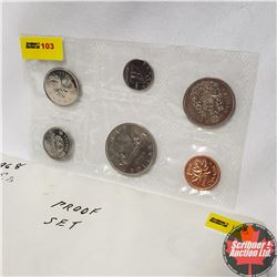 CHOICE OF 7 Canada Year Proof Sets : 1968