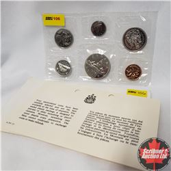 CHOICE OF 7 Canada Year Proof Sets : 1972