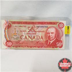 Canada $50 Bill 1975 Lawson/Bouey HA1686702