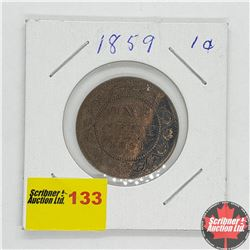 Canada Large Cent 1859
