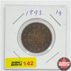 Canada Large Cent 1893