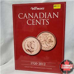 Warman's Canadian Cents - Collector's Folder (107 Coins) 1920-2012