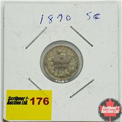 Canada Five Cent 1870