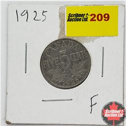 CHOICE OF 2: Canada Five Cent 1925