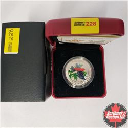 CHOICE OF 12:  RCM 25¢ Coin 2014 : Coloured Coin - The Scarlet Tanager
