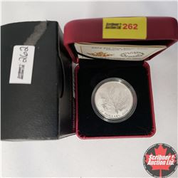 CHOICER OF 14: RCM 2014 $10 Fine Silver Coin - Maple Leaf (99.99% Pure)