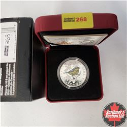 CHOICER OF 14: RCM 2015 $10 Fine Silver Coin - Colourful Songbirds of Canada - The Magnolia Warbler