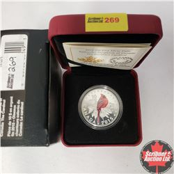 CHOICER OF 14: RCM 2015 $10 Fine Silver Coin - Colourful Songbirds of Canada - The Cardinal (99.99%