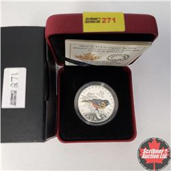 CHOICER OF 14: RCM 2015 $10 Fine Silver Coin - Colourful Songbirds of Canada - Baltimore Oriole (99.
