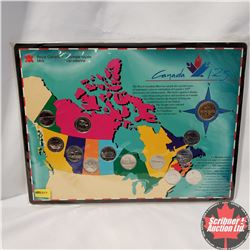 "RCM Coin Set  ""Canada 125 """