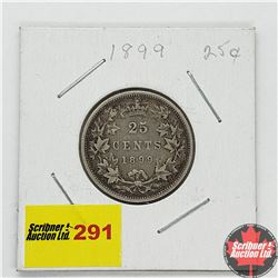 Canada Twenty Five Cent 1899